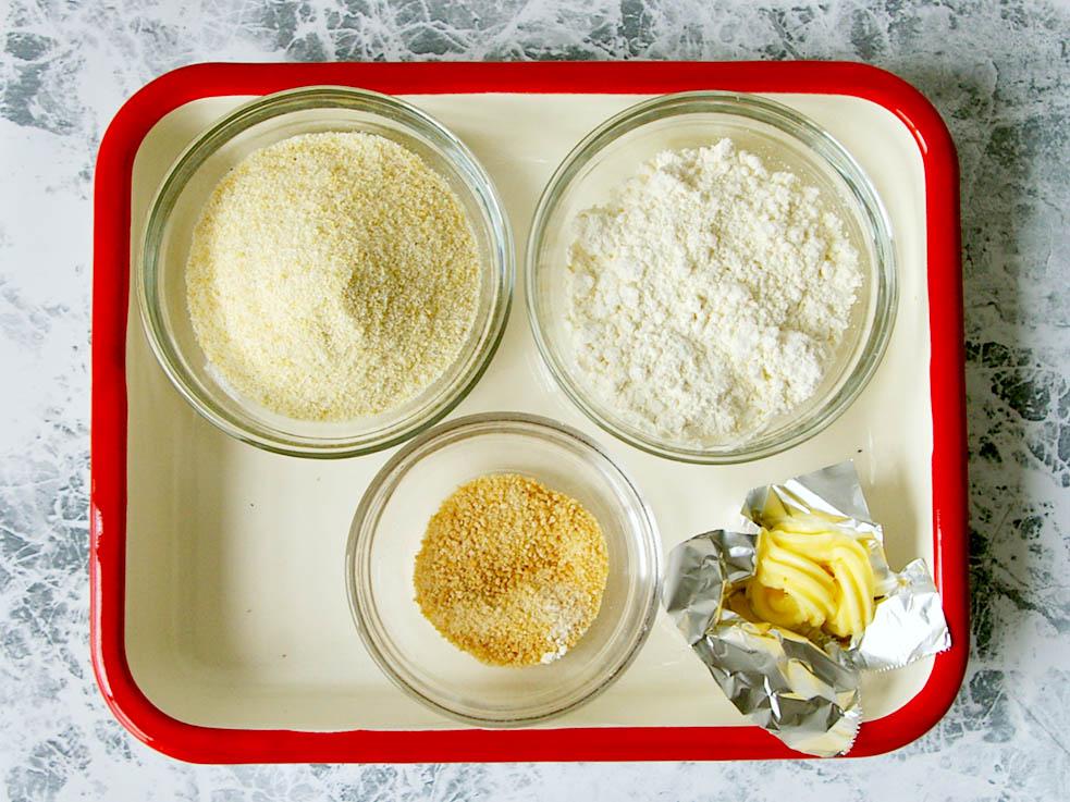 糖質&カロリーオフ!小麦粉の半量をおからで代用