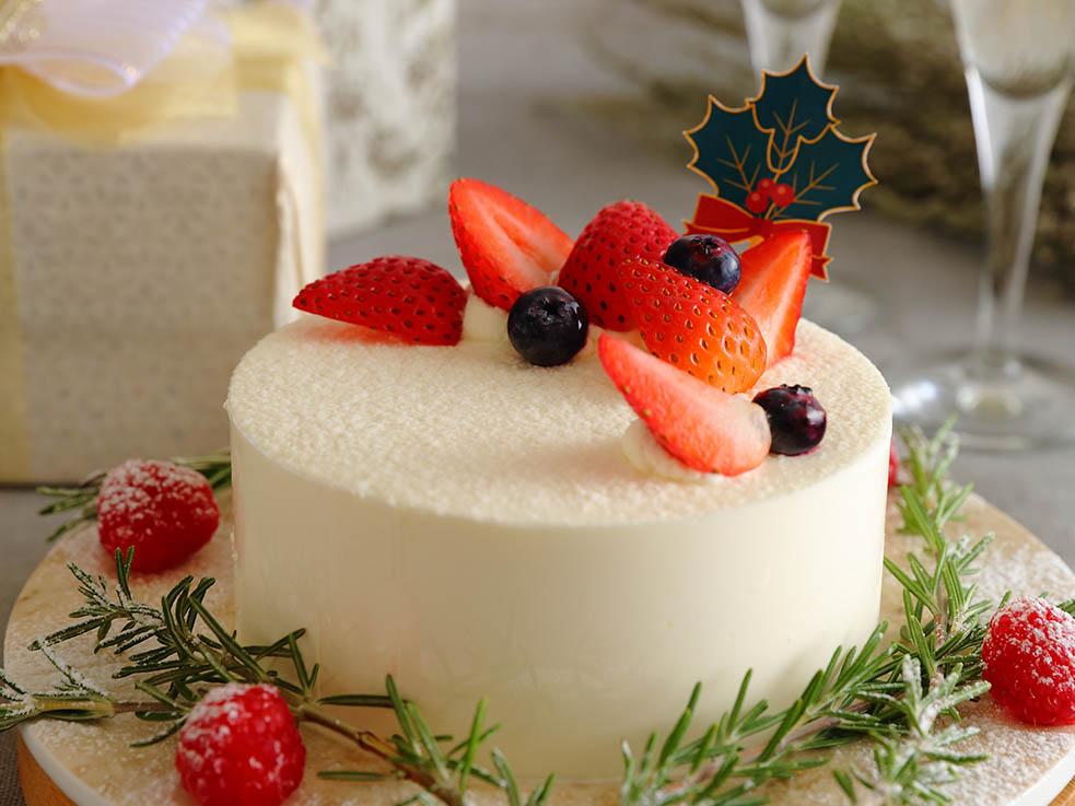 クリスマスの定番! ベリーショートケーキ