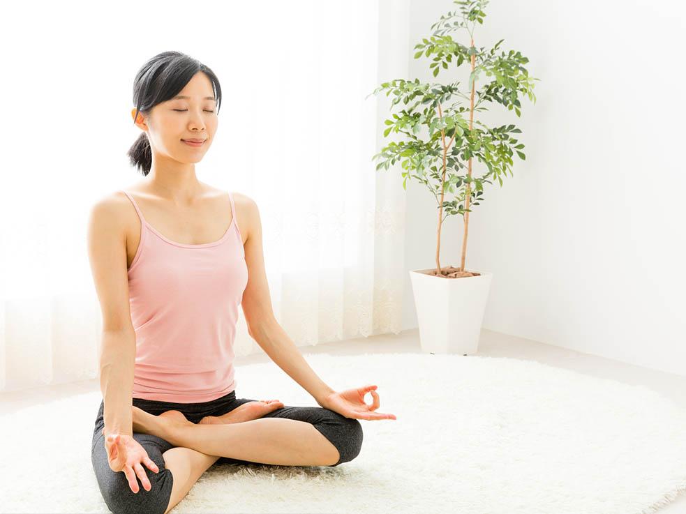 誰でも簡単!瞑想で体も脳もリラックス