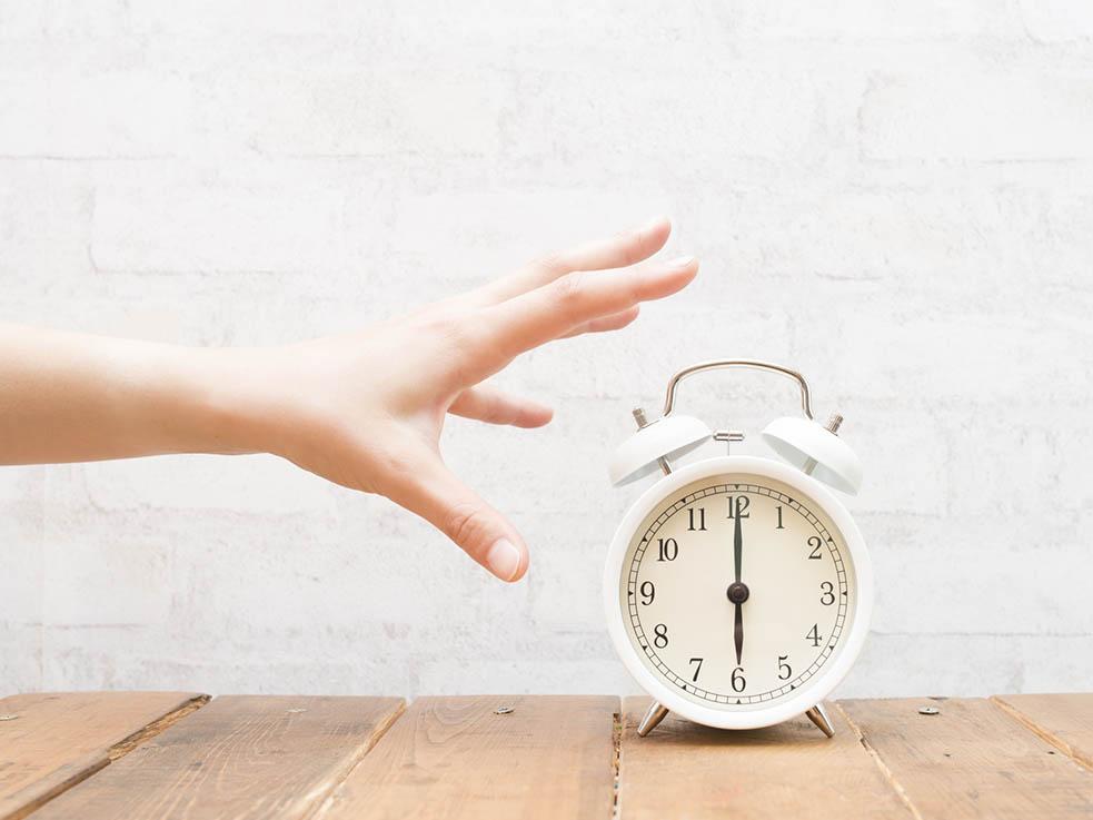 体内時計は25時間!身体のリズムは崩れやすいんです