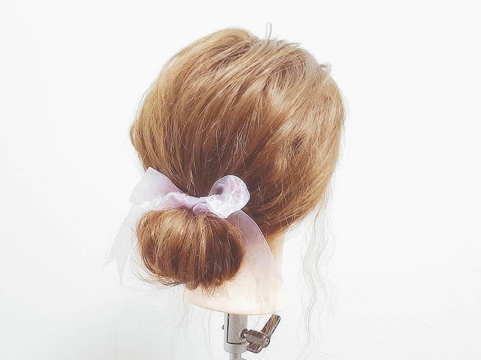 巻かずにできるから短い時間で簡単に!時短まとめ髪アレンジ