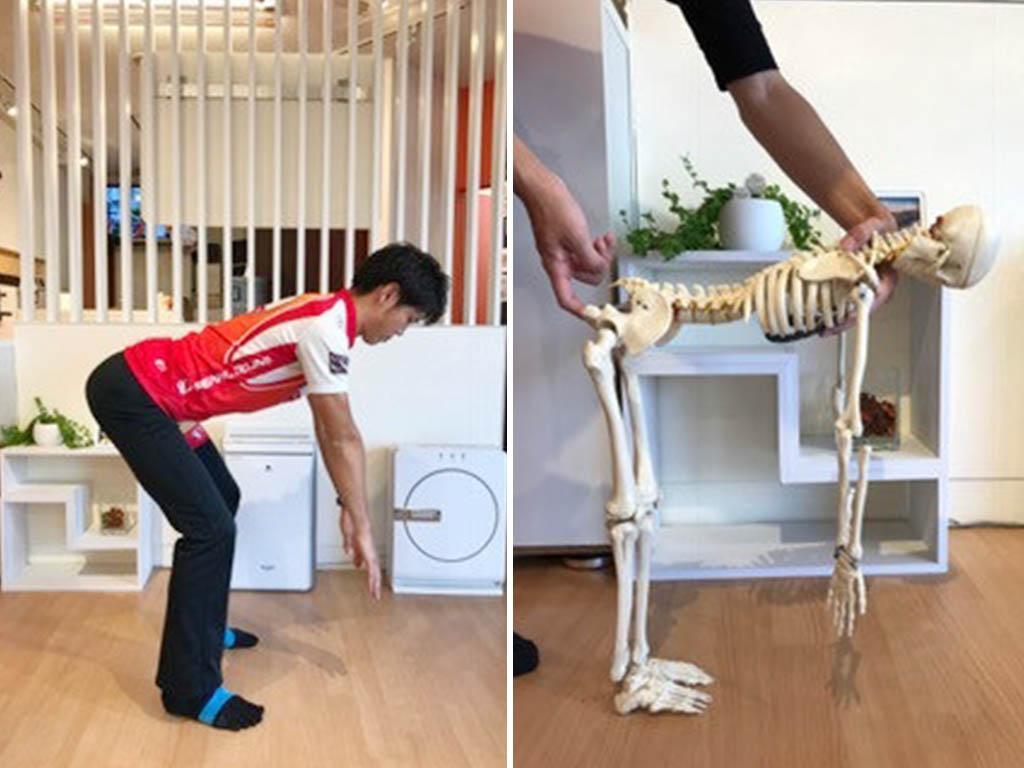 ストレッチは伸ばしたい筋肉を意識して!