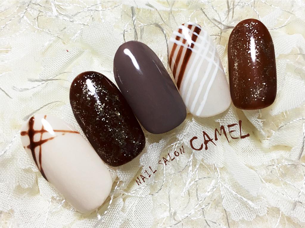 とろけるようなチョコレートモチーフのデザイン