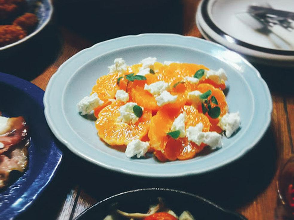 ミカンとヨーグルトのサラダの簡単レシピ