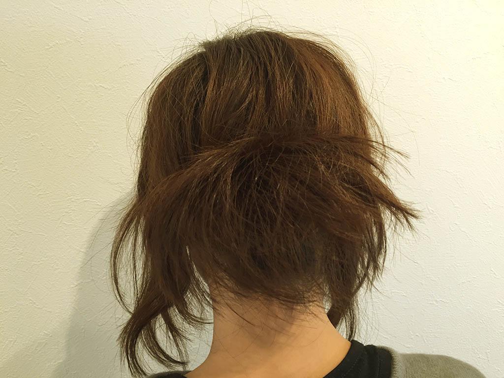 「ぎゃくりんぱ」で髪にボリュームを!ボブヘアでもcoolにきまる簡単アップヘアアレンジ