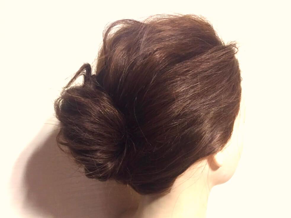 自分でできる大人色っぽヘアアレンジのやり方!夜会巻き風簡単アップスタイル