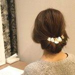王道プリンセス風ギブソンタック!くるりんぱ&三つ編みの簡単アレンジのやり方