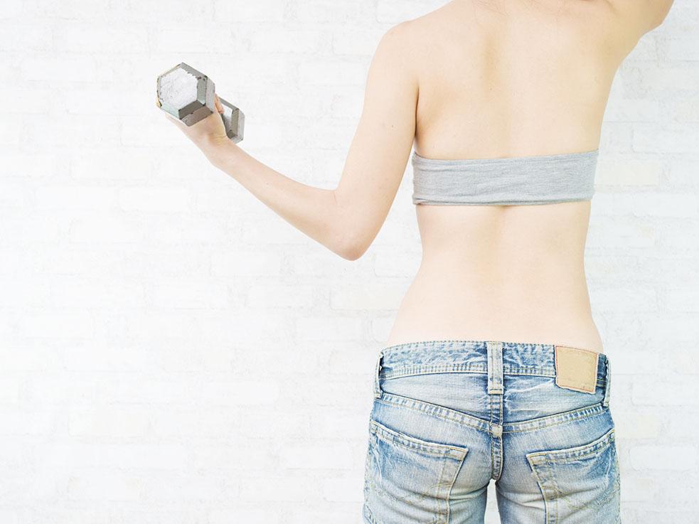 体型キープのコツ③ 筋力を使う習慣を取り入れる
