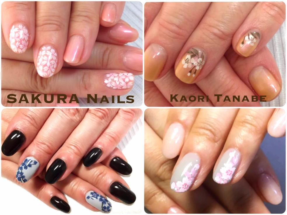 桜ネイルをシンプルに楽しむなら、ニュアンスネイルがオススメ!