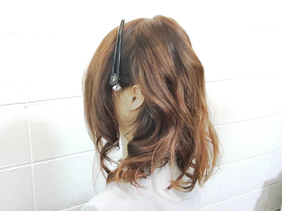 後ろ髪すっきり! 編み込みアップスタイルアレンジの作り方