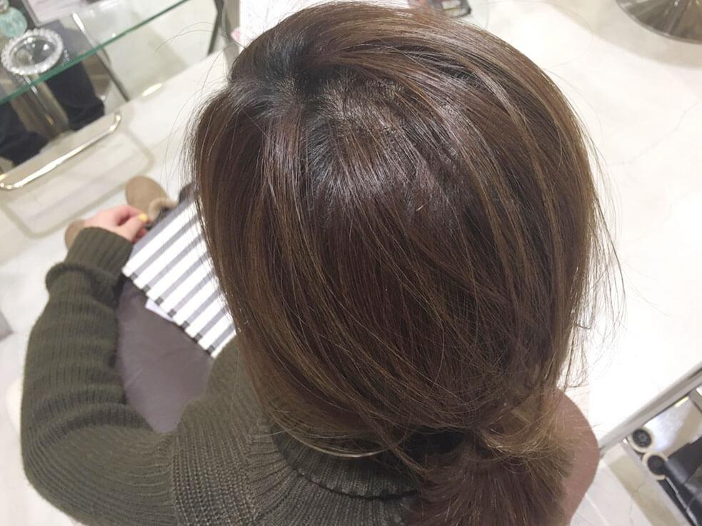 髪のトップにボリュームを出したい!