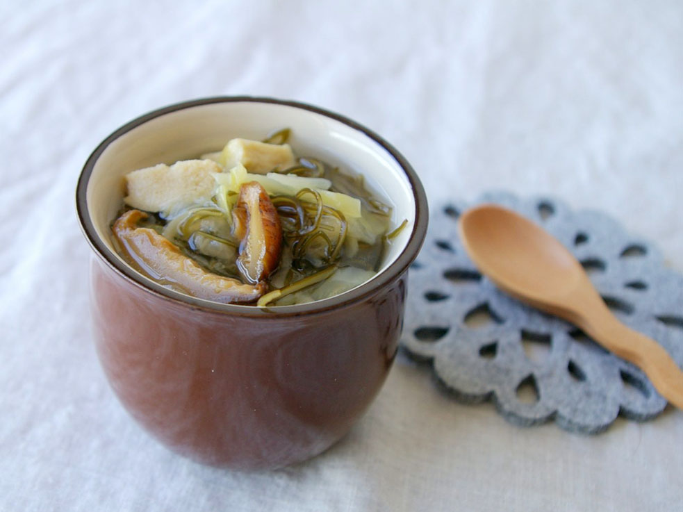 簡単☆煮込むだけ!低糖質&低カロリー!究極の毒出しスープ