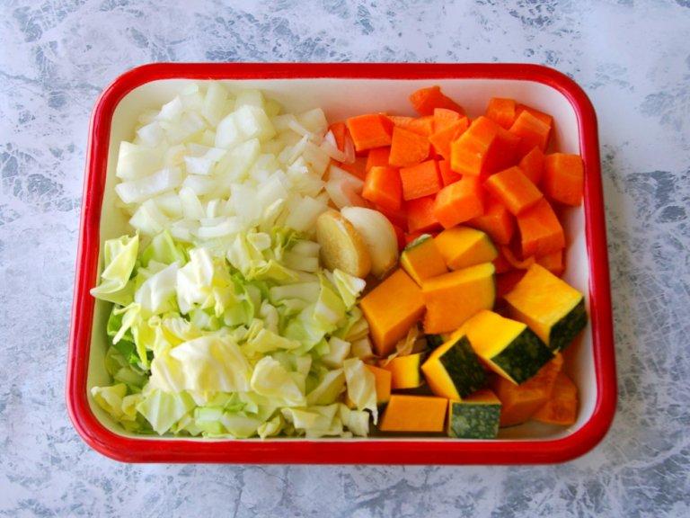 熱に強いファイトケミカルはスープが一番!好みの大きさにカットして
