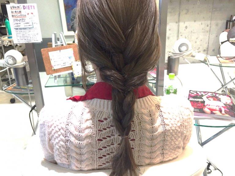 梅雨の湿気に負けないまとめ髪を手に入れる!雨の日のお出掛けもバッチリな三つ編みヘアアレンジ