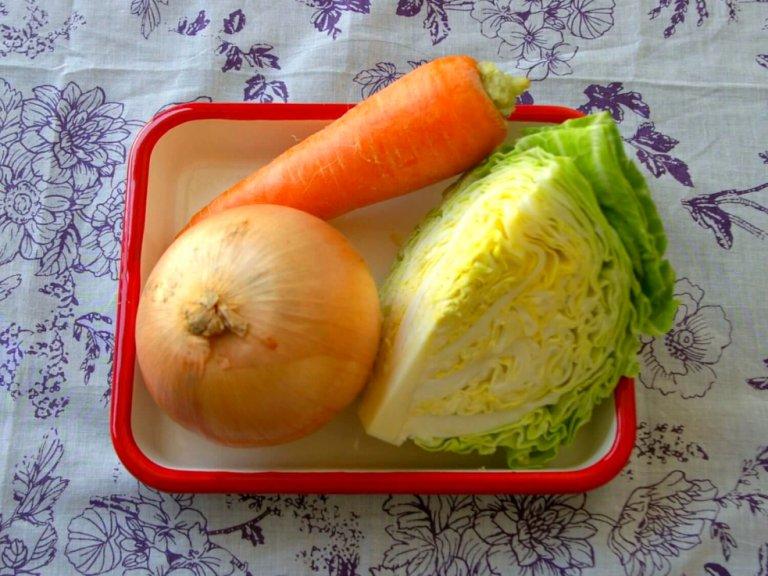 基本の野菜は3種類!お腹に優しいから夜食や朝食にもオススメ