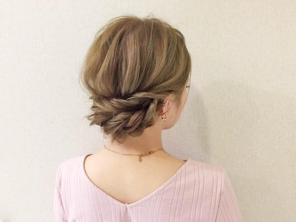 夏はすっきりまとめ髪で決まり!オトナな涼感ヘアを演出しましょう☆
