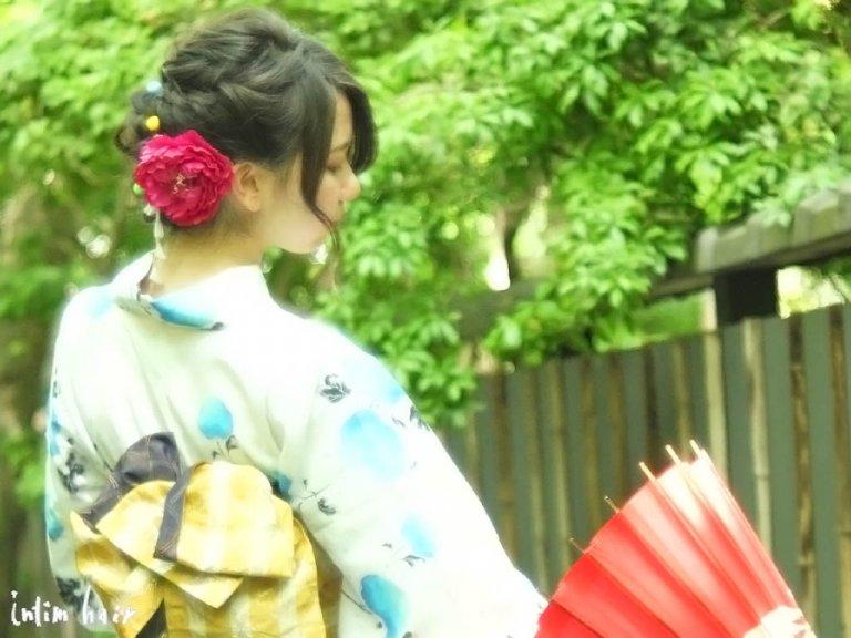 浴衣に合わせるヘアスタイルのポイント☆