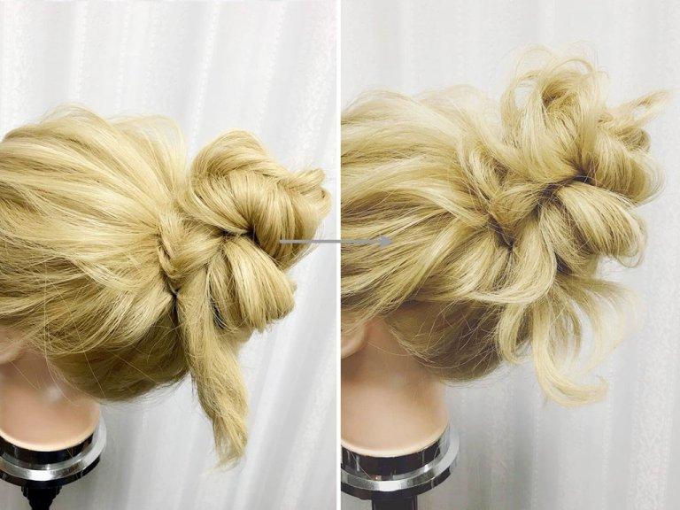 髪型 お団子 描き方