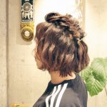 ボブヘアさん・ショートヘアさん向けヘアアレンジ☆ ゆるふわねじり編み込みアレンジ