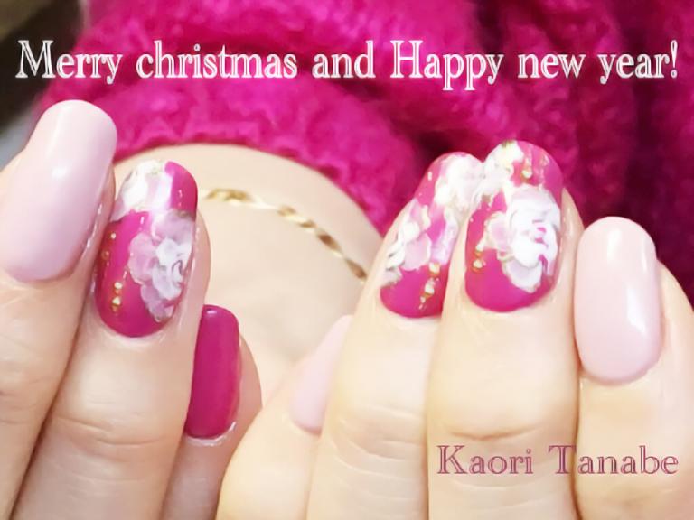 クリスマス~お正月のネイル、季節外れにはなりたくない!