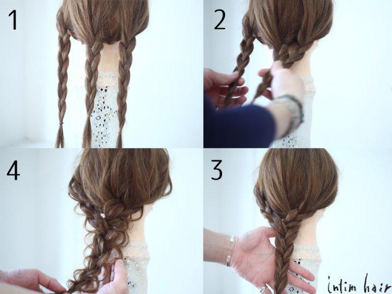 編み込みのほぐし方を覚えて、毎日のヘアアレンジをブラッシュアップ!