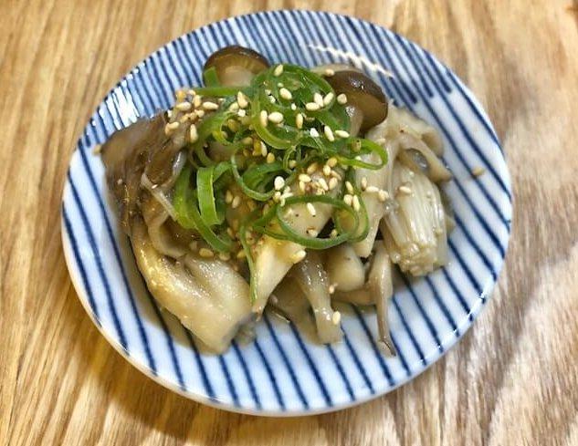 簡単ストックレシピ 【きのこの和風マリネ】