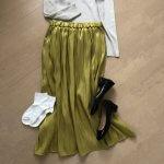冬から春に変わる時期はチュールカラースカートで気分を上げよう!