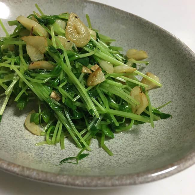 便利な野菜「豆苗」